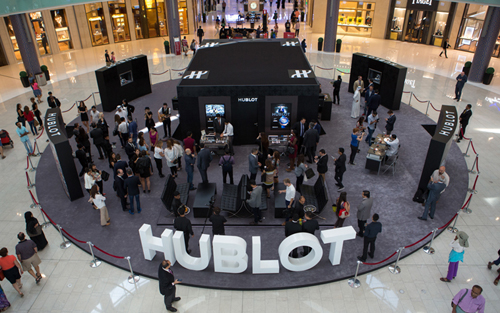 Hublot Pop Up Store Dubai Mall
